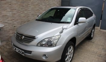 TOYOTA HARRIER-HYBRID full